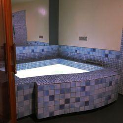 Bath hot naked sauna shower tub