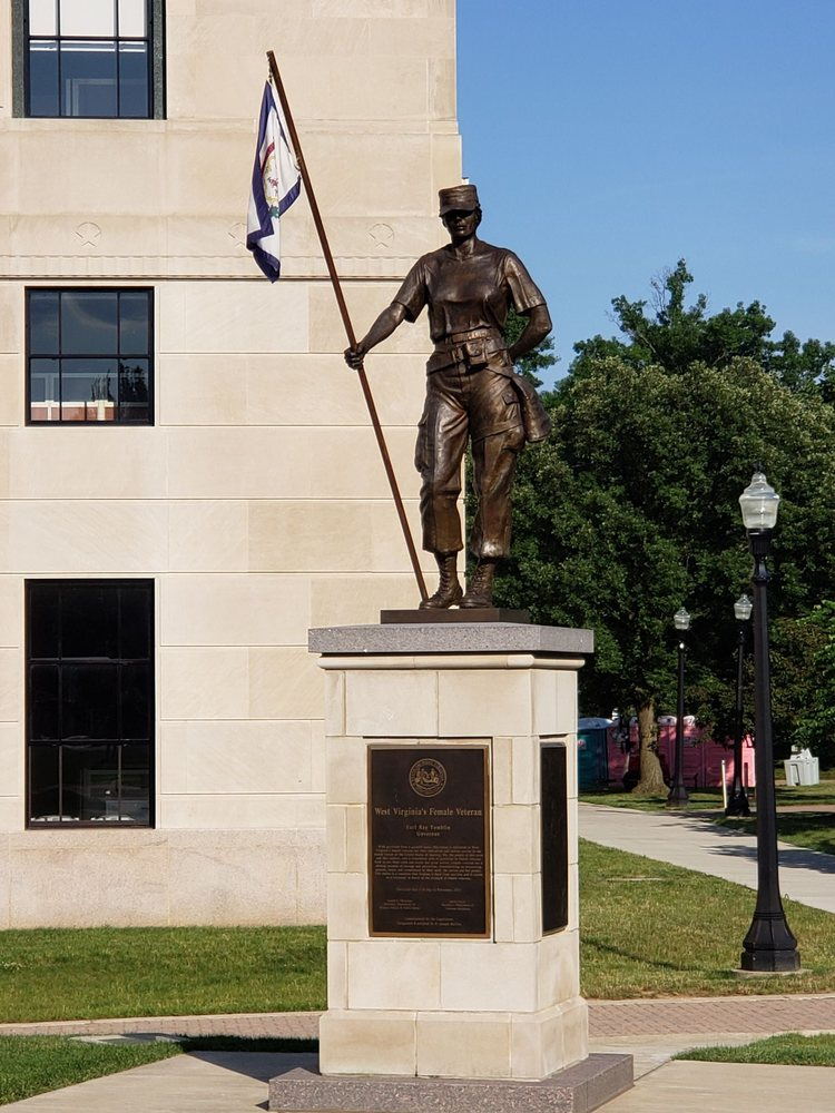West Virginia Veterans Memorial: Greenbrier St, Charleston, WV