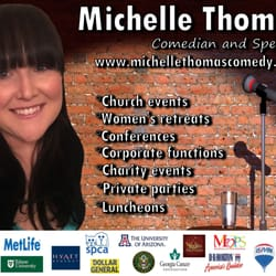 Michelle Thomas - CLOSED - Comedy Clubs - Mableton, GA - Phone