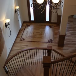 Classic Hardwood Floors classic hardwood Photo Of Classic Wood Floors Denver Co United States Custom Inlay With