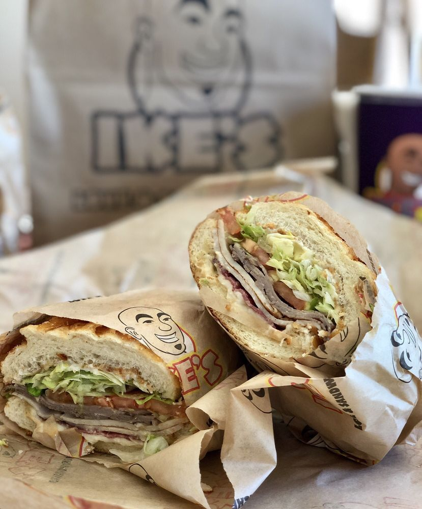 Ike's Love & Sandwiches: 137 Plaza Dr, Vallejo, CA