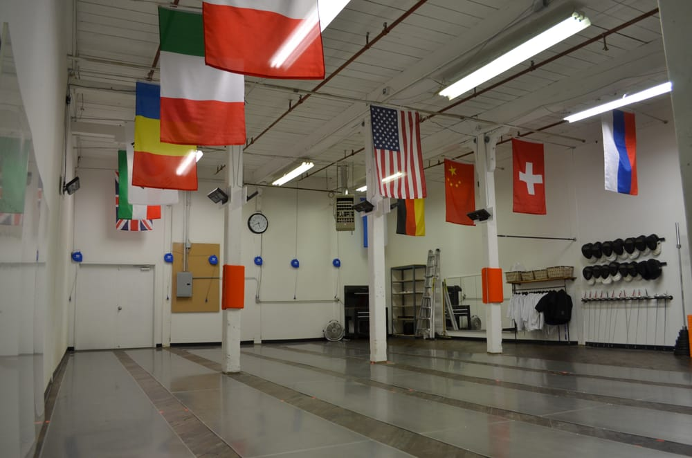 Allez Fencing and Training Center: 100 Main St, Nashua, NH
