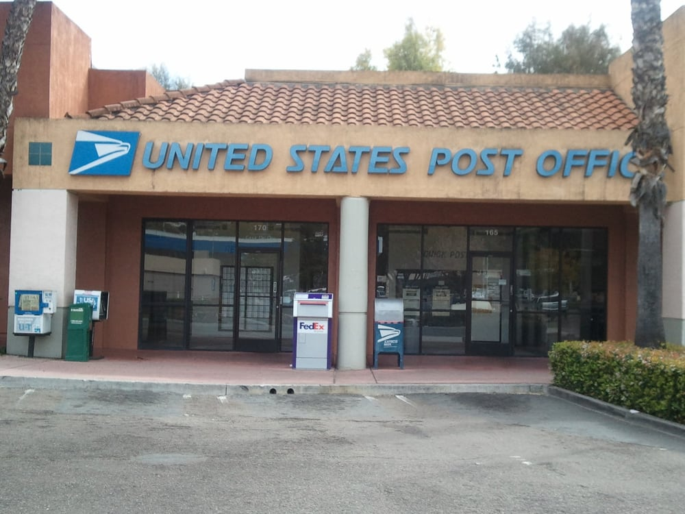 US Post Office: 9805 Campo Rd, Spring Valley, CA