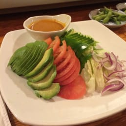 Hinode Japanese Restaurant - Piermont, NY, United States. Avocado salad.
