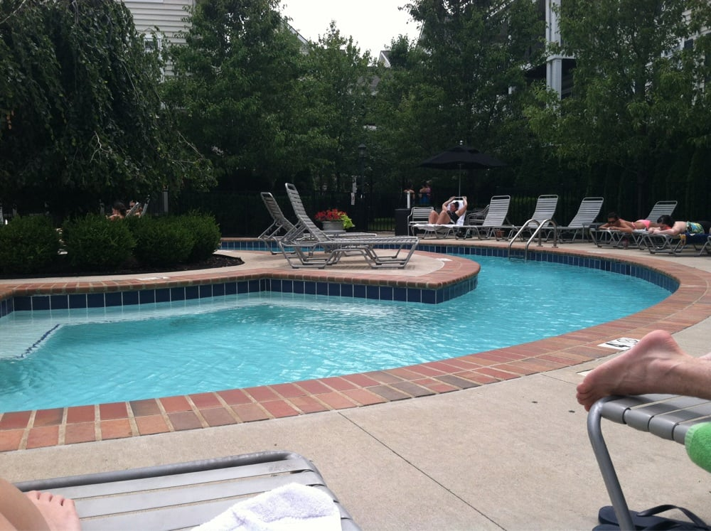 The Adult Side Of The Pool Representing About 1 3 Of The Total Size Yelp