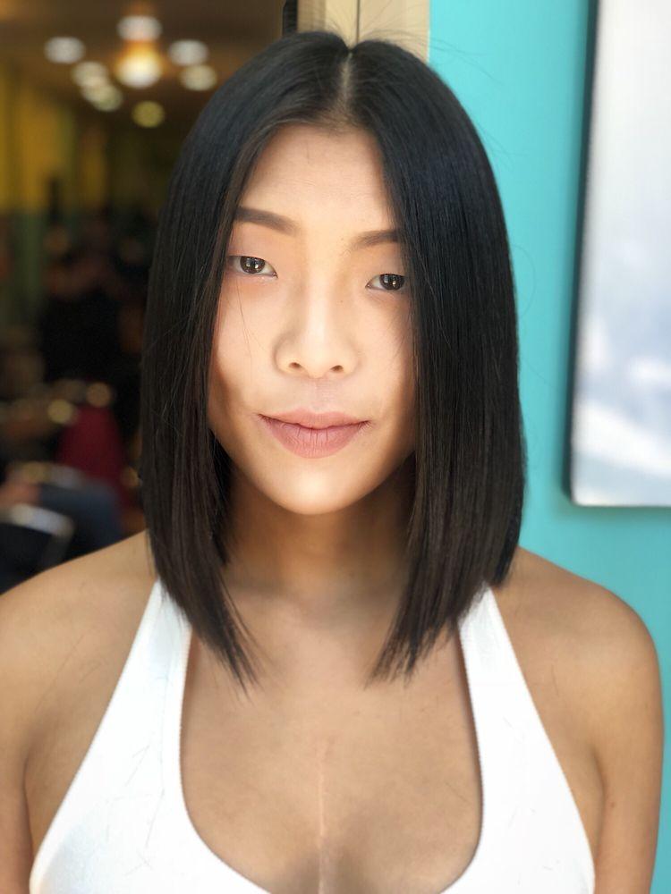 Long Bob Haircut From Extra Long Hair Cut By Katherine Yelp