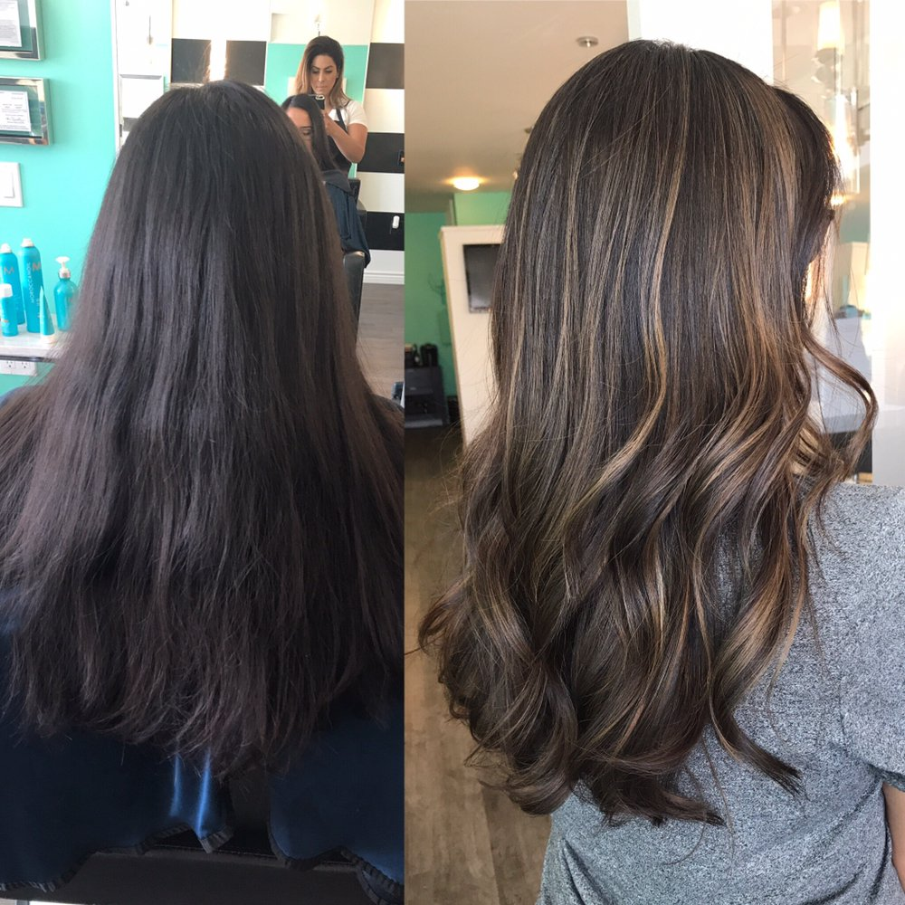 Before after by nancy toro yelp for Lux hair salon