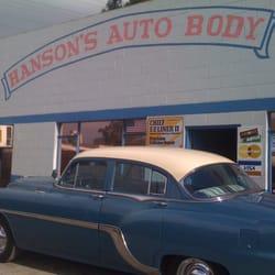 Hanson s auto body repair 71 reviews for Hanson motors service department