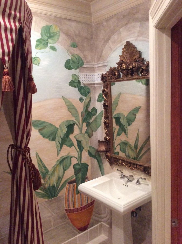 Paige Weber Decorative Painting: 1501 37th Ave, Oakland, CA