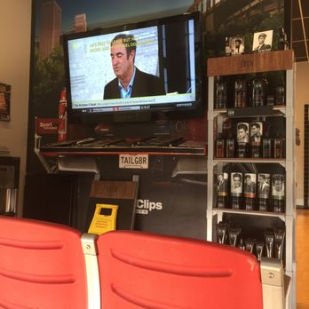 There are sports and TVs everywhere - playing sports of course. And the Bakersfield CA Sport Clips' guy-smart stylists know how to give you the cut you want and .