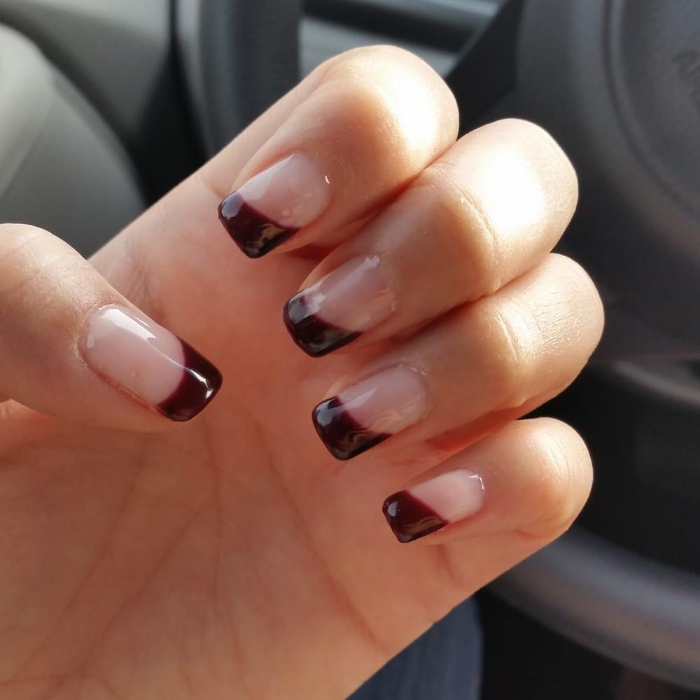 Slanted French Manicure Yelp
