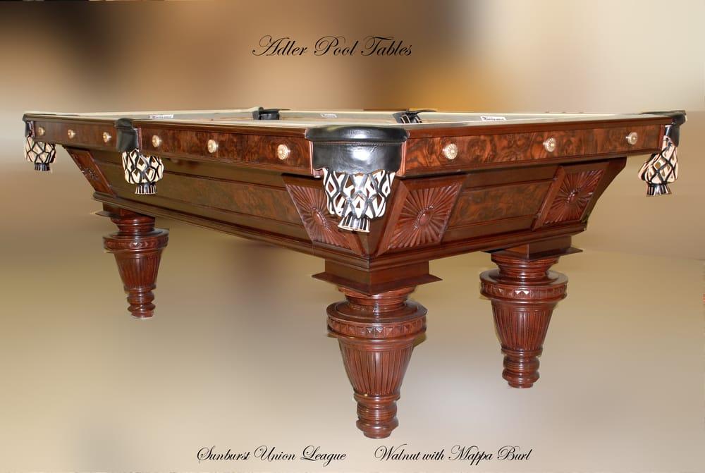 Photo Of Adler Pool Tables   Hawthorne, CA, United States. Sunburst Union  League