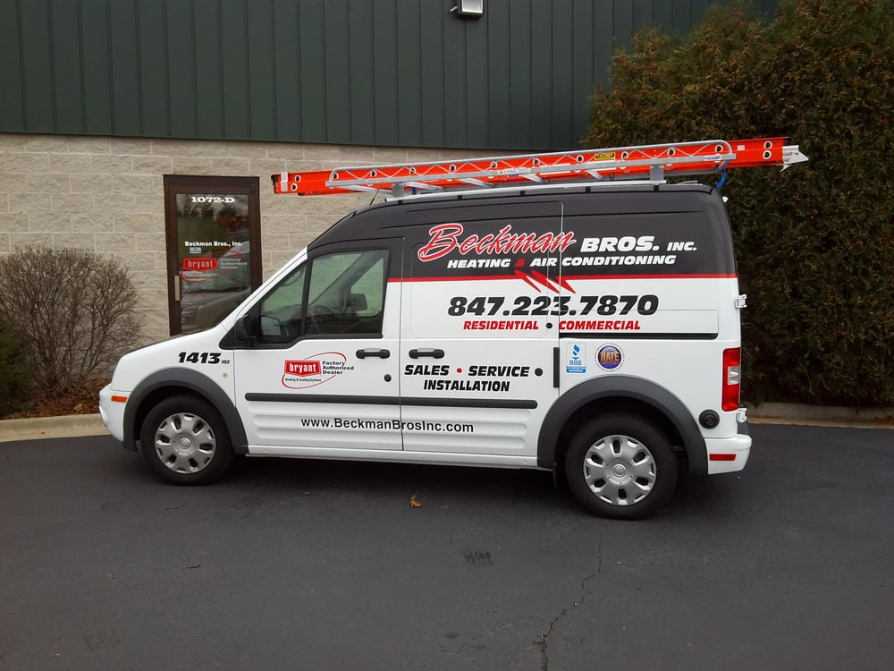 Beckman Bros., Inc. Heating & Air Conditioning: 1072 S Corporate Cir, Grayslake, IL