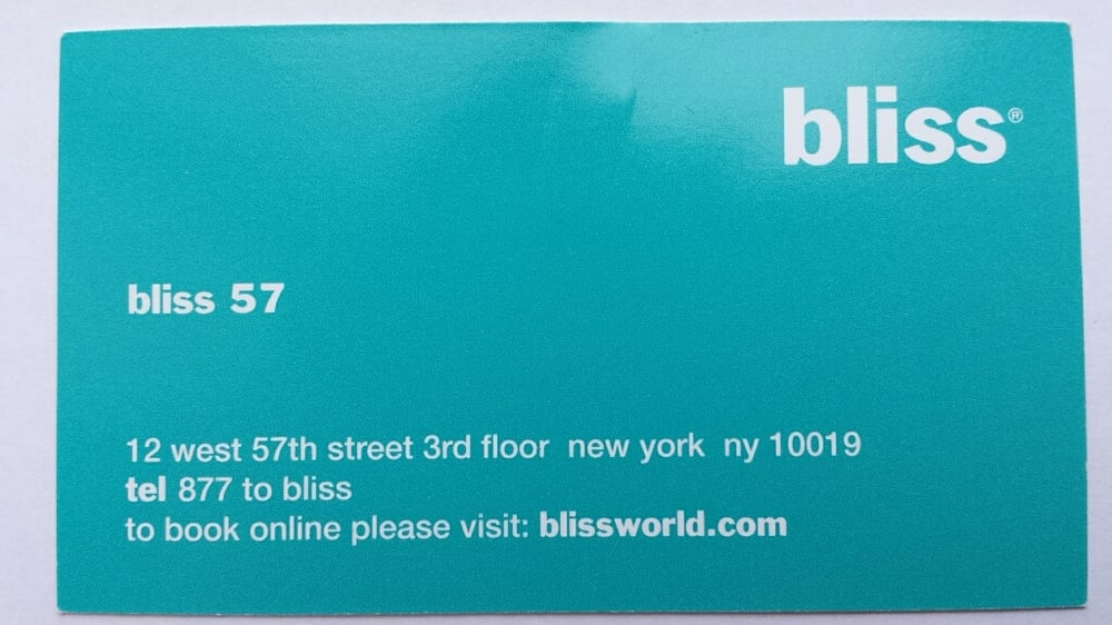 bliss spa gift card | Cardfssn org