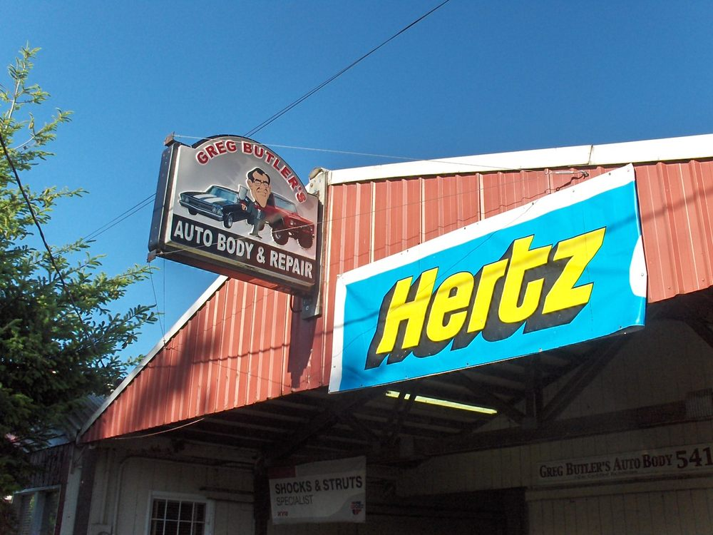 Greg Butler's Auto Body & Repair: 1028 N 2nd St, Jefferson, OR