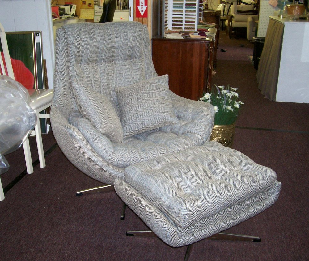 Mod Chair And Ottoman