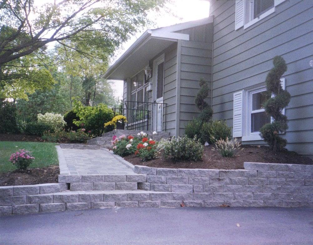 Landscape Design For Split Level Home Youtube Induced Info