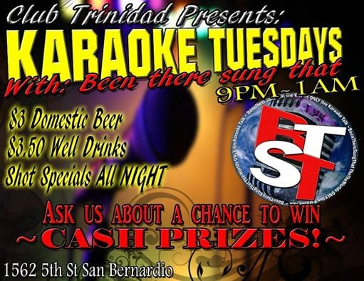 Club Trinidad: 1562 W 5th St, San Bernardino, CA