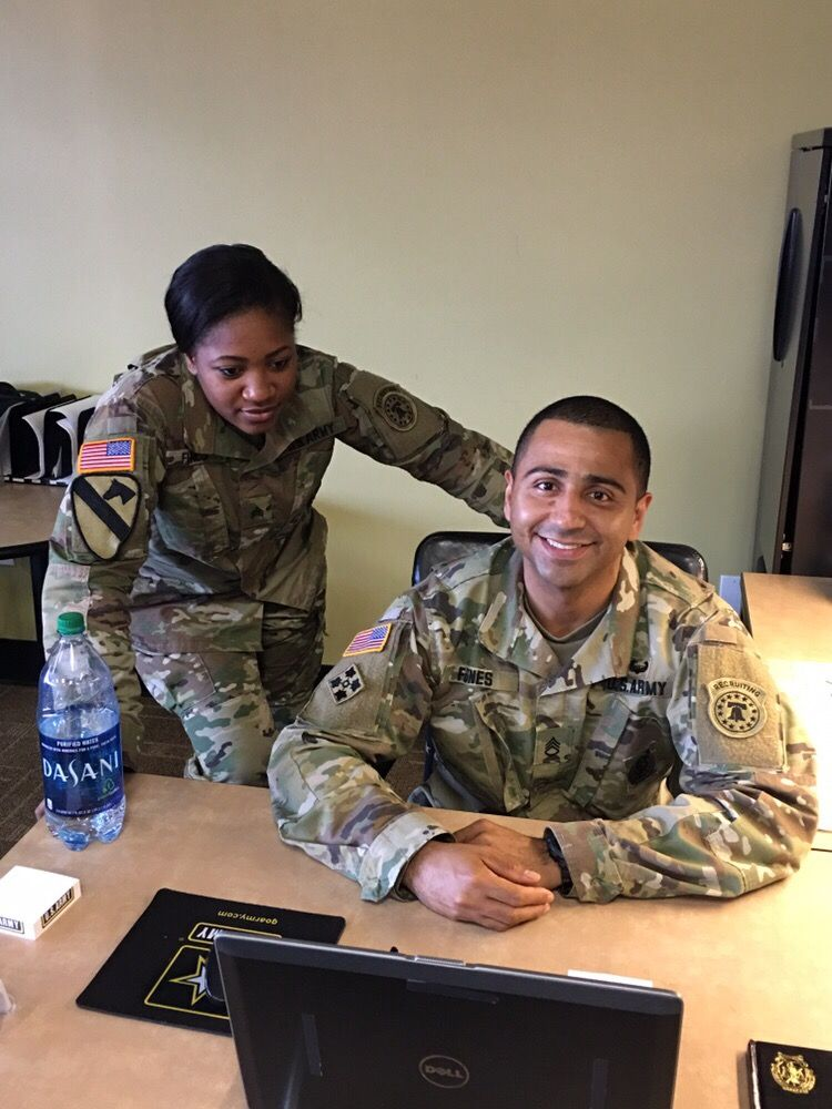 SPC Brambila joined the US Army Reserve as a (27D) Paralegal ...