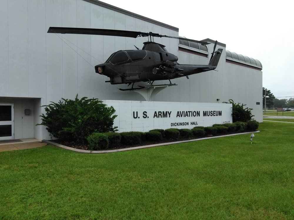 US Army Aviation Museum: 6000 Novosel St, Fort Rucker, AL