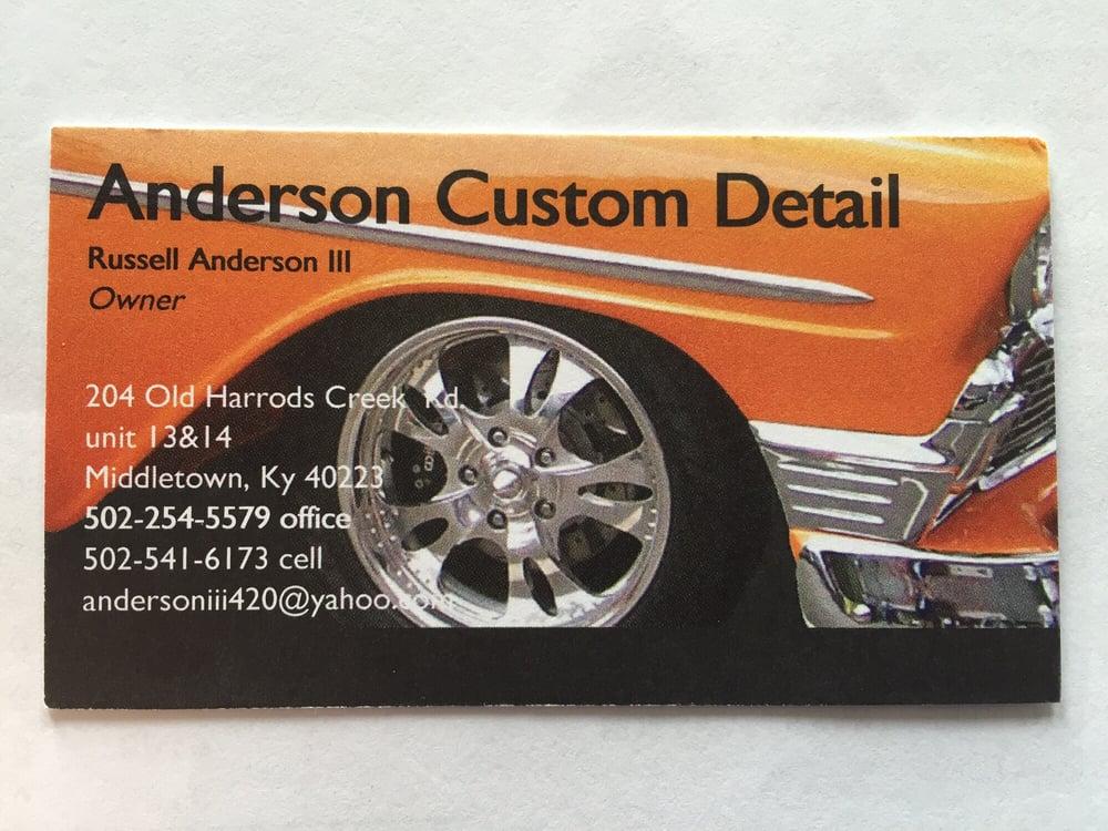 Anderson Custom Detail: 204 Old Harrods Creek Rd, Louisville, KY