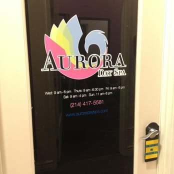Aurora Day Spa Frisco Tx