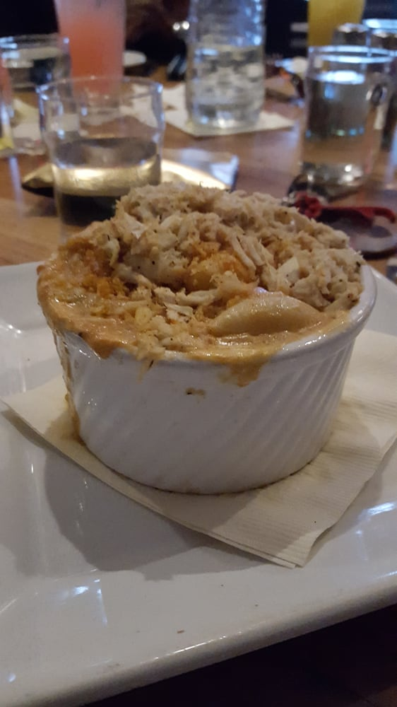 Lobster or msybe crab mac & cheese. It was watery... - Yelp
