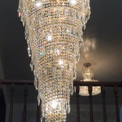 Photo Of Witherspoon Chandelier Cleaning Los Angeles Ca United States Large