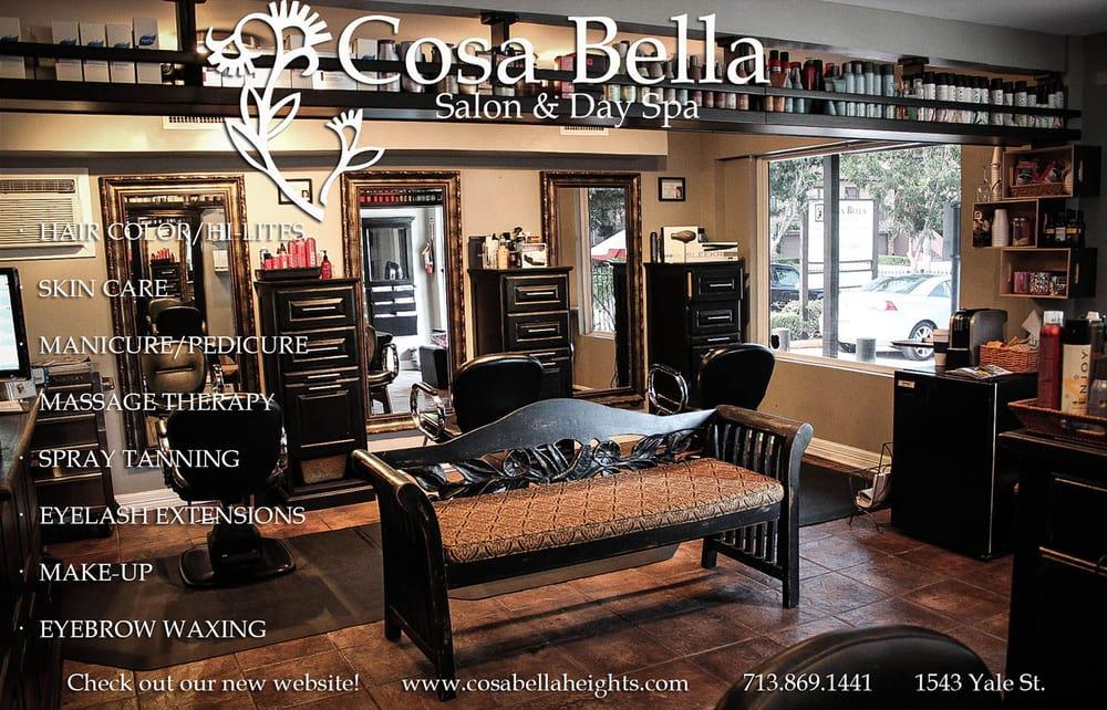 Cosa Bella Salon & Day Spa - Hair Salons - The Heights ...