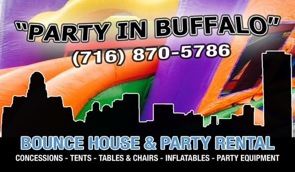 Foto Zu Party In Buffalo Bounce House Rentals