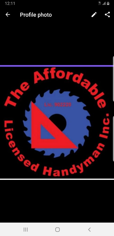 The Affordable & Licensed Handyman