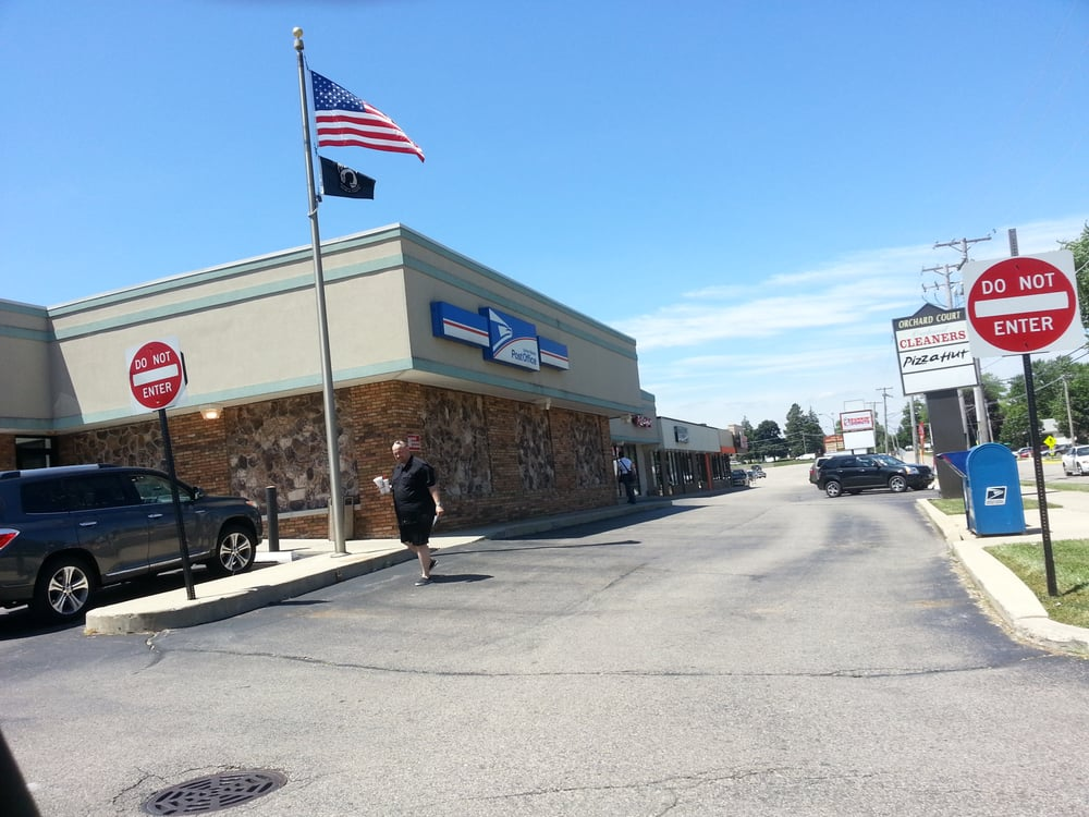 US Post Office: 405 Orchard St, Antioch, IL