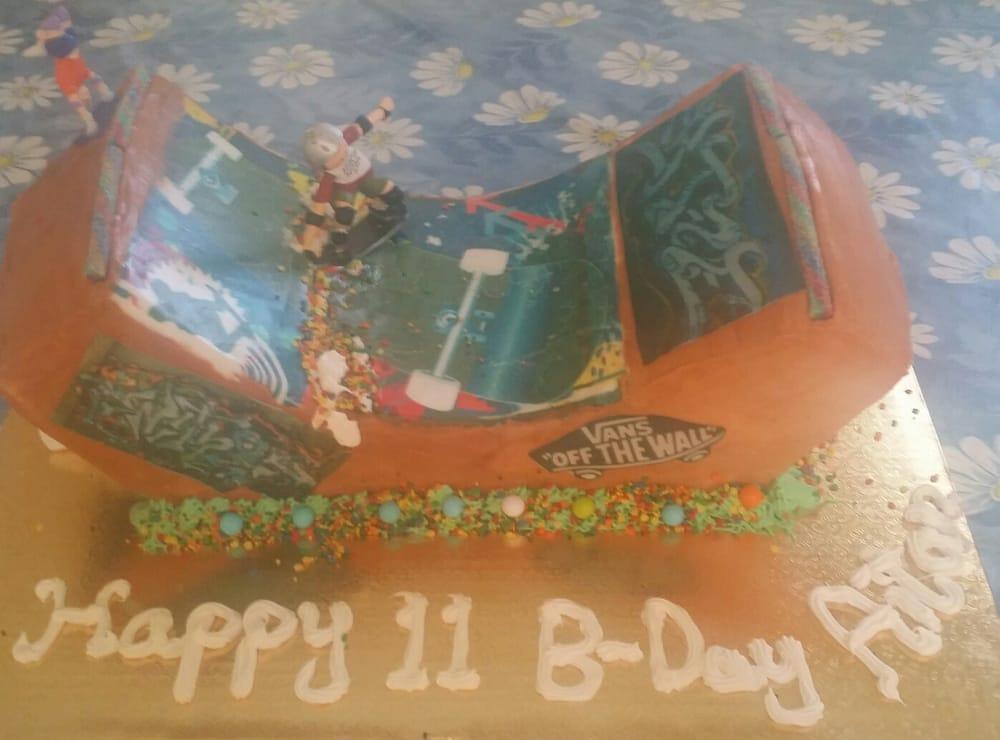 Quarter Pipe Skateboard Ramp Cake Yelp