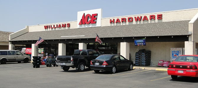 Williams Ace Hardware: 6230 E Central Ave, Wichita, KS
