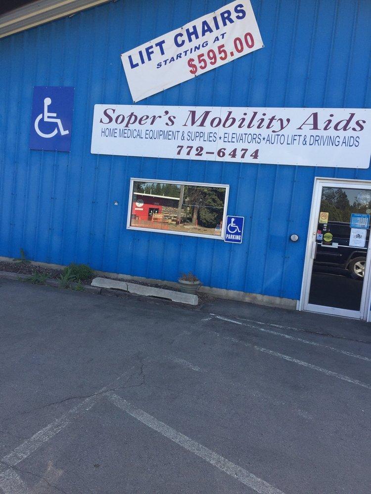 Soper's Mobility Aids: 7392 N Government Way, Dalton Gardens, ID