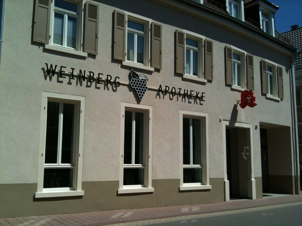 weinberg apotheke sinsheimerstr 5 mauer baden w rttemberg yelp. Black Bedroom Furniture Sets. Home Design Ideas