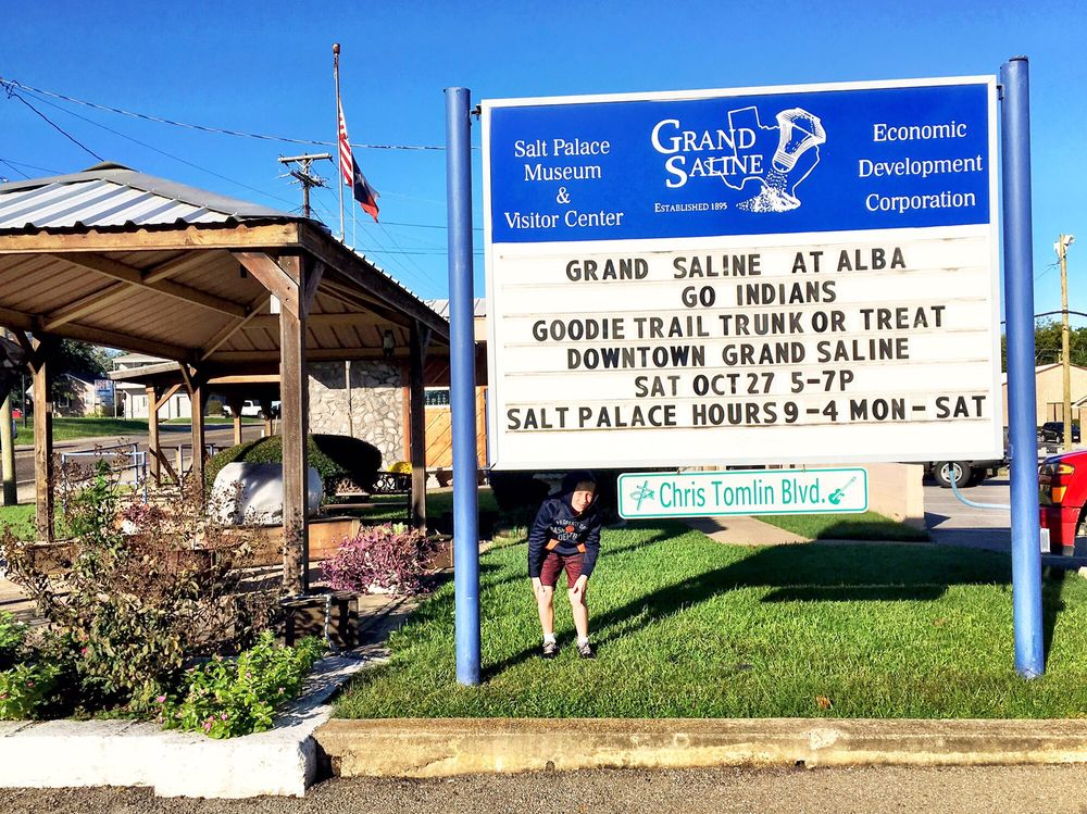 Grand Saline Salt Palace: 100 W Garland St, Grand Saline, TX
