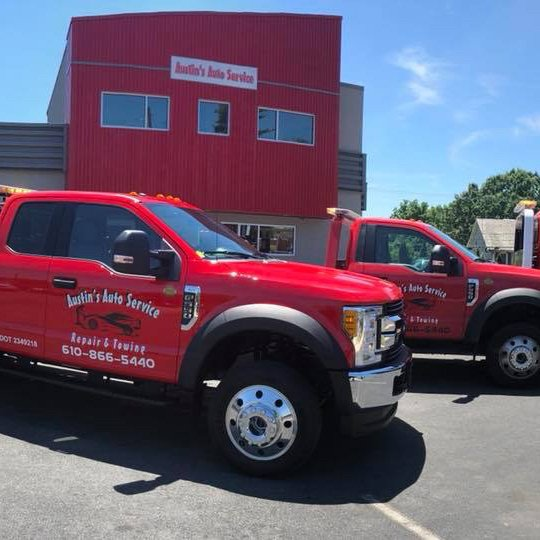 Towing business in Fullerton, PA