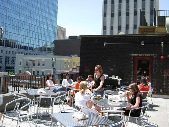 The Hive, a nice rooftop setting with view of downtown - Yelp