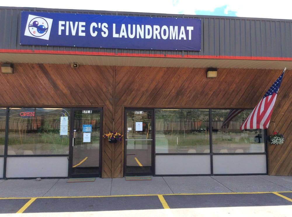 Five C's Laundromat: 20 Four Seasons Dr, South Fork, CO