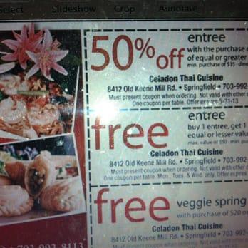Photo Of Celadon Thai Cuisine   Springfield, VA, United States. This Is The
