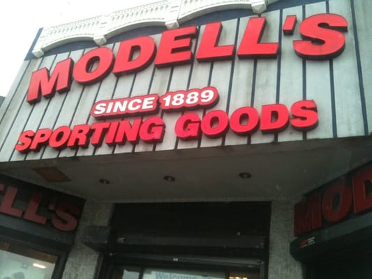Modell's Sporting Goods is America's oldest, family-owned and operated retailer of sporting goods, athletic footwear, active apparel and more. Shop our sporting goods online today! Modell.