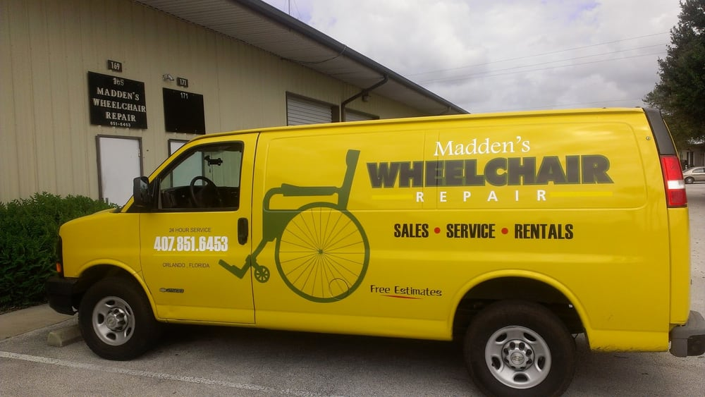 Madden S Wheelchair Repair Furniture Repair 169 Drennen Rd Holden Heights Orlando Fl