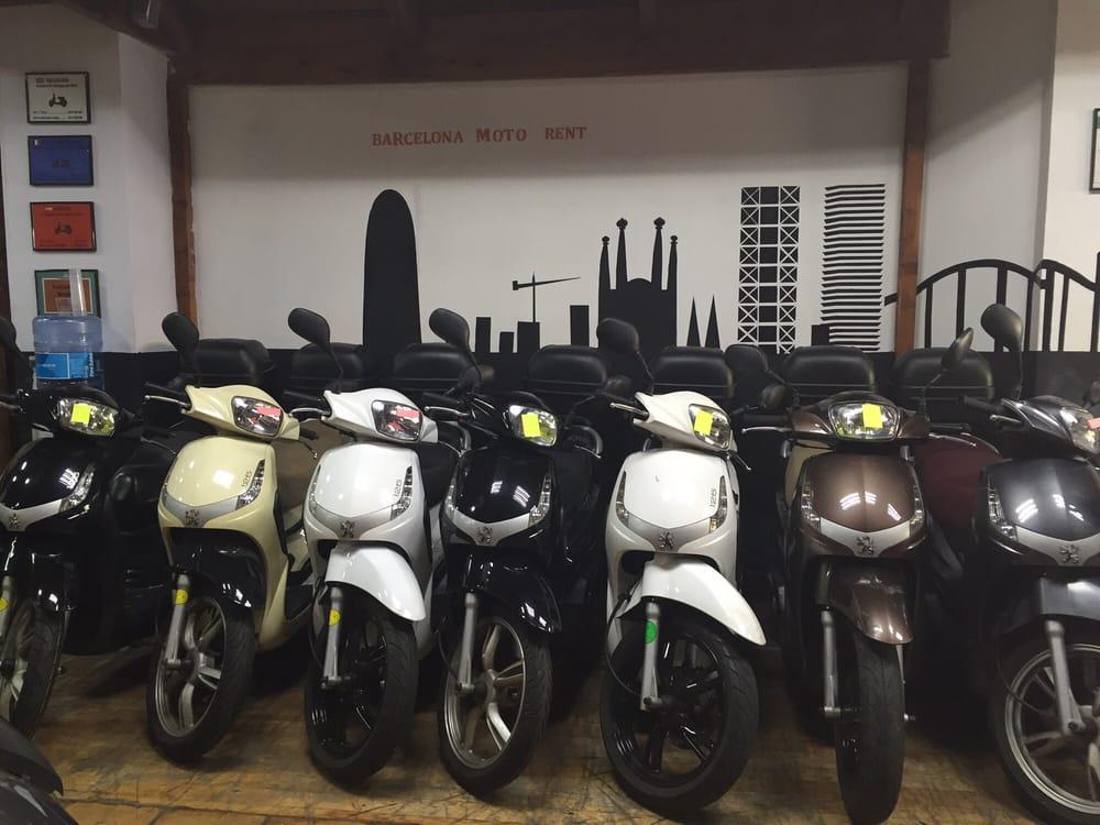 Barcelona Moto Rent: Calle Roger de Lluria, 31, Barcelona, B
