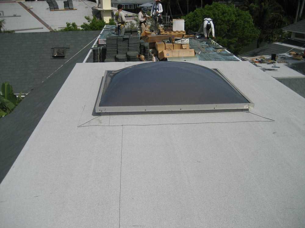 Photo Of King Roofing Service Naples Fl United States Custom 4x4 Skylight