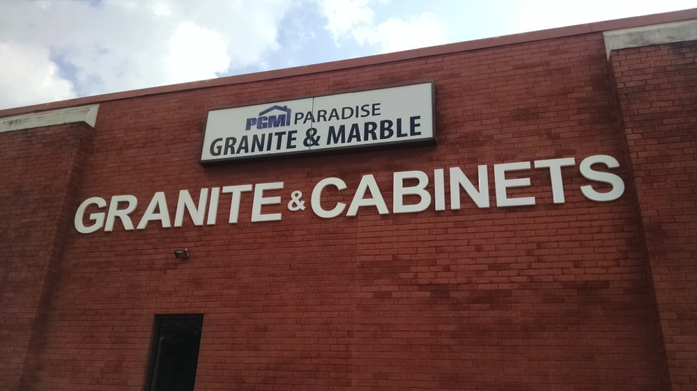 Paradise granite and marble 16 photos cabinetry 6755 for Kitchen cabinets jimmy carter blvd