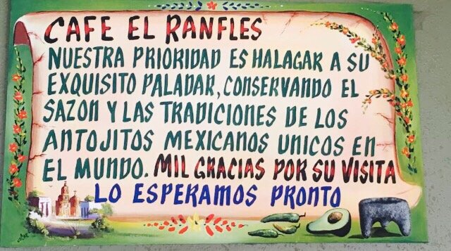 Cafe El Ramffles: 2981 N Grand Ave, Nogales, AZ
