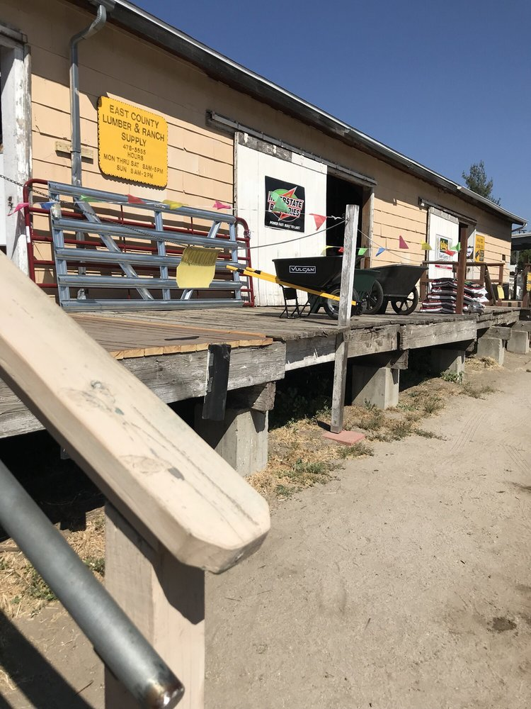 East County Lumber & Ranch Supply: 995 Forest Gate Rd, Campo, CA