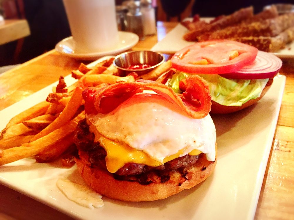 The lilly s breakfast burger yelp for Lilly s craft kitchen