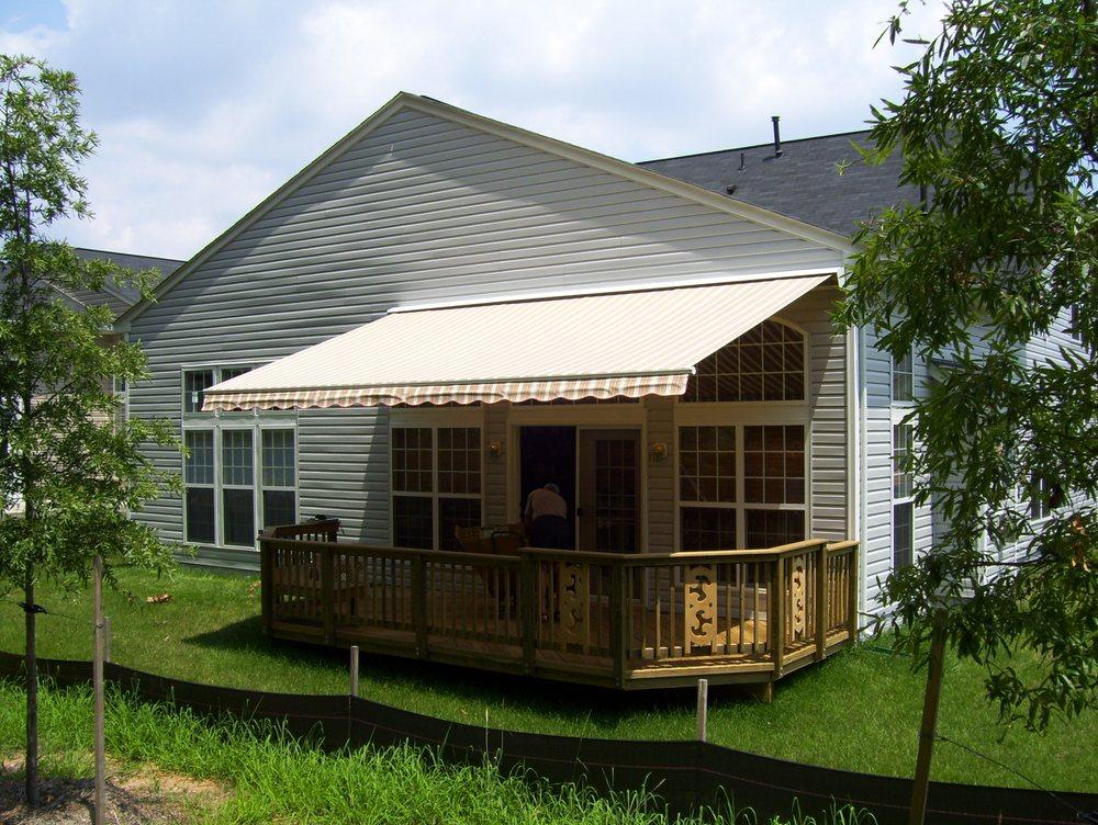 Awnings by Clark Associates: 14018-E Sullyfield Cir, Chantilly, VA